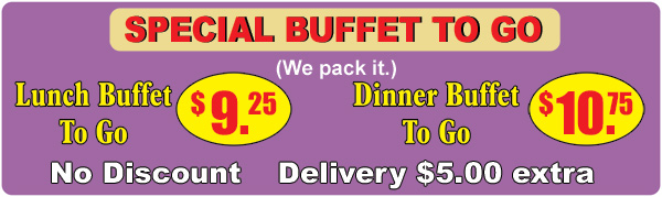 buffet to go